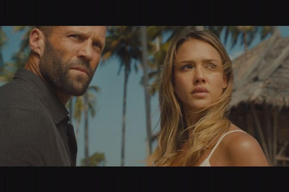 Statham and Alba make a splash in 'Mechanic Resurrection'
