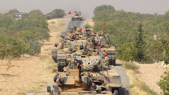 Csapatösszevonások Észak-Szíriában