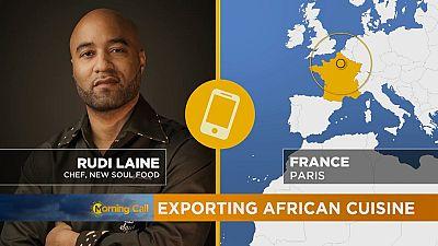 La cuisine africaine à l'étranger [The Morning Call]
