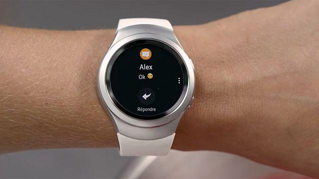 Часы и телефон в одном флаконе от Samsung