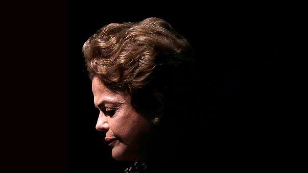 """Dilma Rousseff dice ante el Senado brasileño que siente """"el gusto amargo de la injusticia"""""""