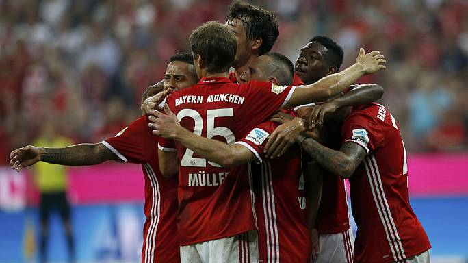 Goleada per il Bayern di Ancelotti, Guardiola-Mourinh-Conte al top in Premier