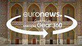 360° views of the wonders of Samarkand