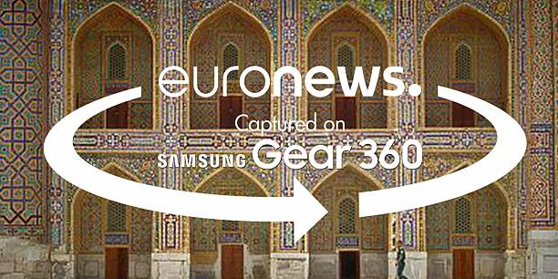360° views of the wonders of Samarkand