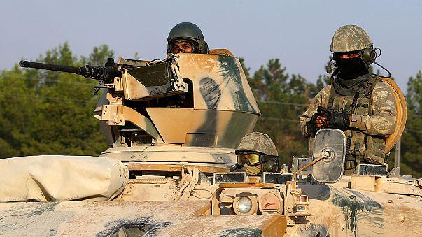 Syrien: Türkische Armee weitet Angriffe gegen syrische Kurden aus