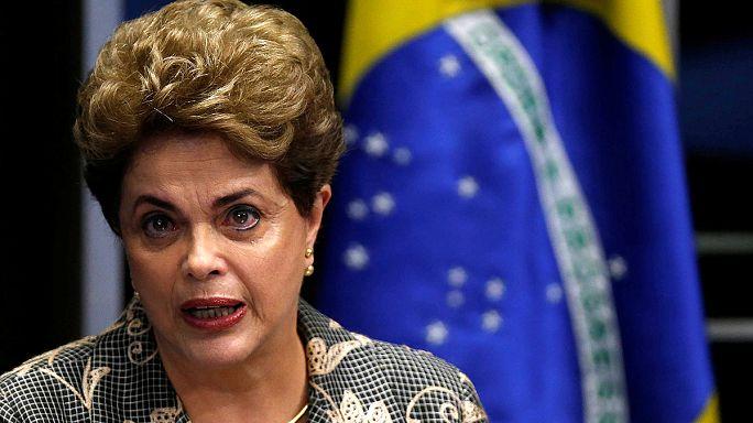 A felfüggesztett brazil elnök: Azt kérem, hogy igazságosan döntsenek