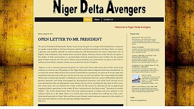 Niger Delta Avengers announce cessation of hostilities