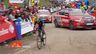 Ciclismo, Vuelta: Quintana c'è, sua 10a tappa e maglia