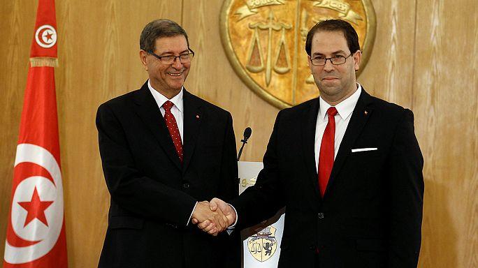 Tunus'ta Ulusal Birlik Hükümeti görevi devraldı