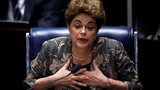 """A horas del voto del """"impeachment"""", Dilma Rousseff planta cara al Senado y denuncia un """"golpe de Estado"""""""