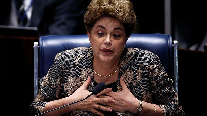 Brezilya lideri Rousseff saatlerce kendini savundu