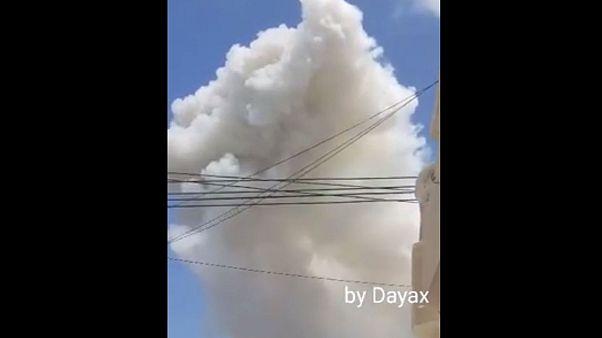 Heftige Explosion und Schüsse in Somalias Hauptstadt Mogadischu