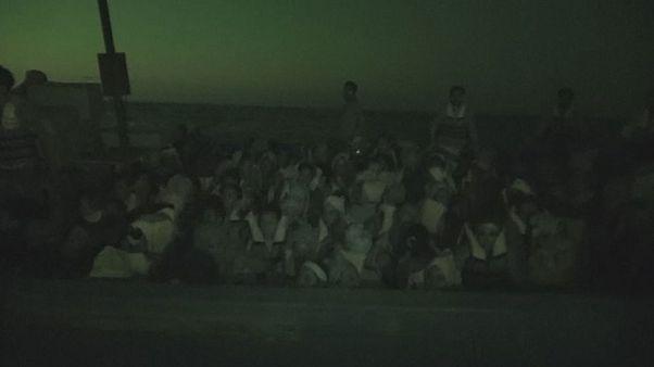 Libya Akdeniz'de binlerce mülteciyi kurtardı