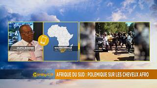 Afrique du sud : polémique sur le cheveu afro [The Morning Call]