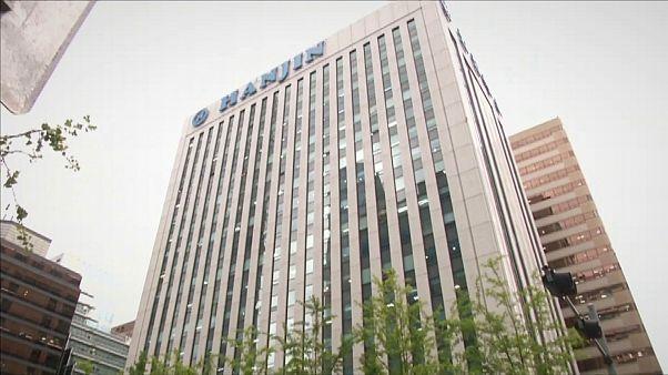 Csődközelben a világ egyik legnagyobb teherhajózási vállalata, a Hanjin Shipping.