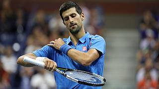 Novak Djokovic gewinnt trotz Handicap