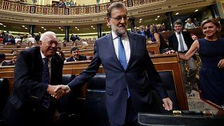 Kormányalakításért lobbizott Rajoy a parlamentben