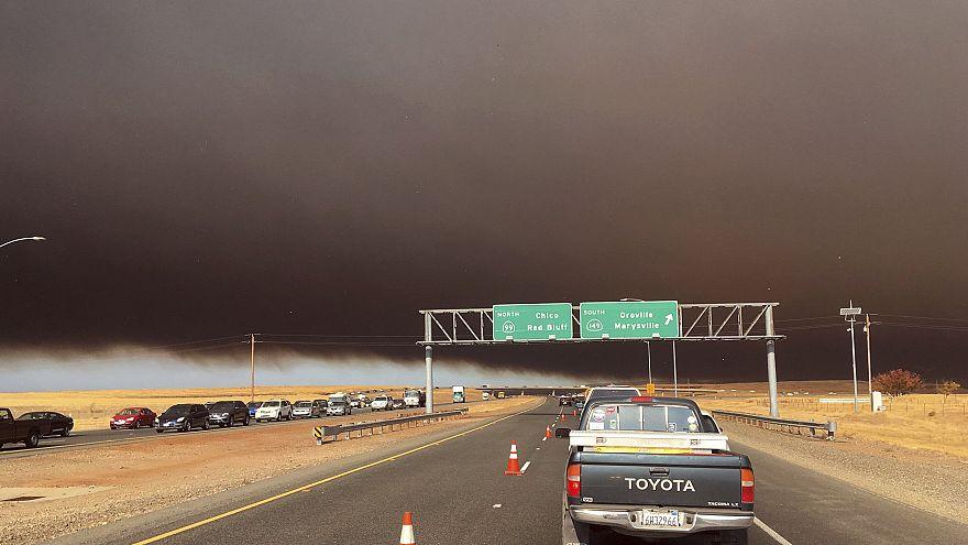 IMAGE: Camp Fire near Paradise, California