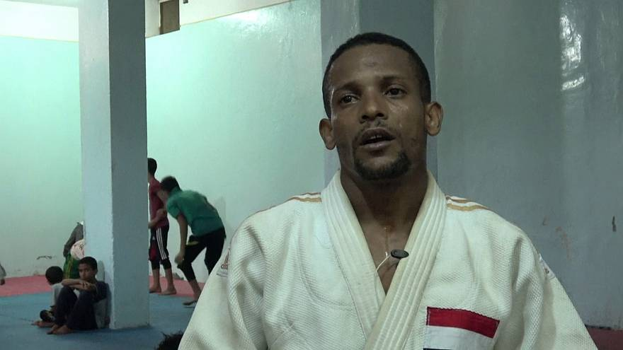 Channeling frustration through judo in war-torn Yemen