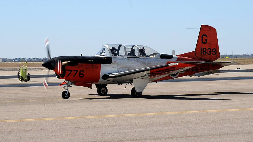 Training Air Wing 4 T-34C Turbomentor