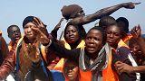 عمليات إنقاذ مكثّفة للمهاجرين غير الشرعيين في مياه المتوسط