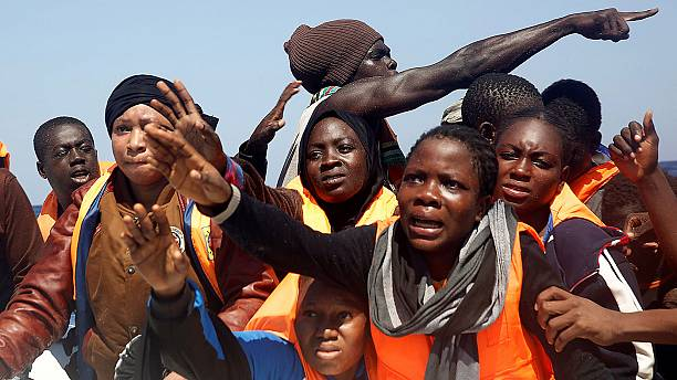 Almost 10,000 migrants rescued in Strait of Sicily in two days