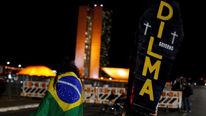 Brezilya Devlet Başkanı Rousseff'in azil davasında son sözü senato söyleyecek