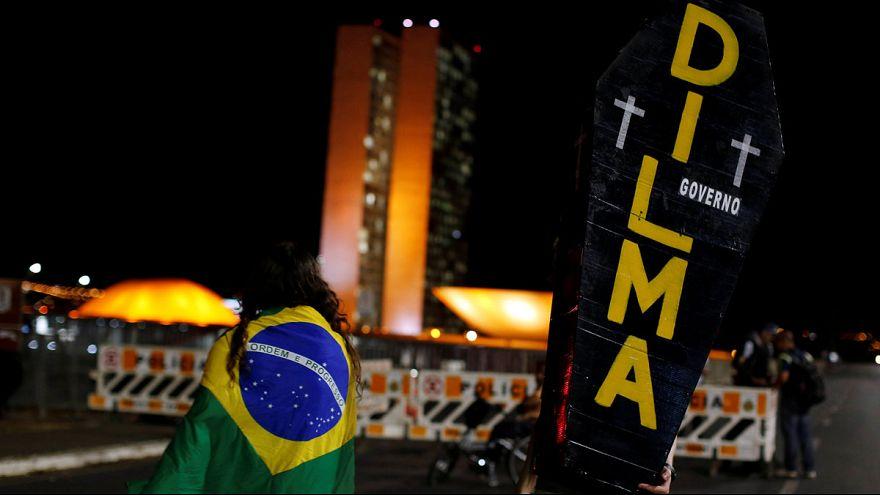 São Paulo: Ausschreitungen vor Abstimmung über Amtsenthebung von Rousseff