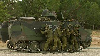 Fiktív városban készül a litván hadsereg az oroszok ellen