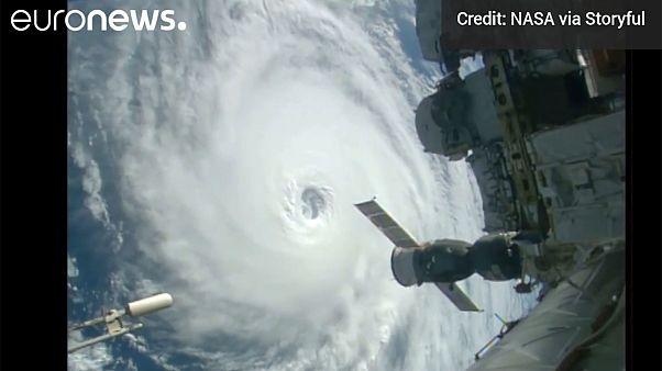 [Video] La Estación Espacial Internacional filma tres huracanes en un solo día