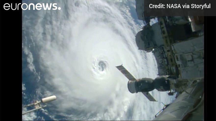 [Watch] ISS spots three hurricanes