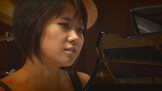 Yuja Wang próbálja a ráadást
