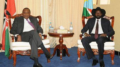 Le président kényan en médiateur au Soudan du Sud