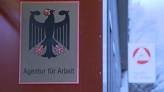 German jobless rate falls again, retail sales data mixed
