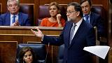 Spain's Rajoy faces crunch confidence vote in parliament