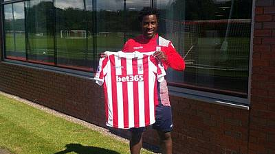 Ivorian forward Bony joins Stoke from Man City on season-long loan