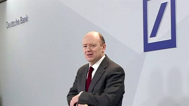 Deutsche Bank's boss calls for more cross-border bank mergers