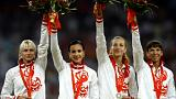 Doping: 6 atleti positivi a Pechino 2008, in 4 devono restituire le medaglie