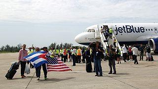 Histórica reanudación de los vuelos entre Estados Unidos y Cuba