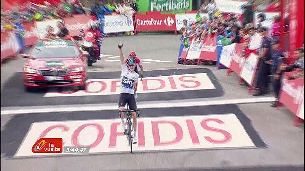 Vuelta : Chris Froome remonte le temps