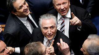 Beiktatták az új brazil államfőt