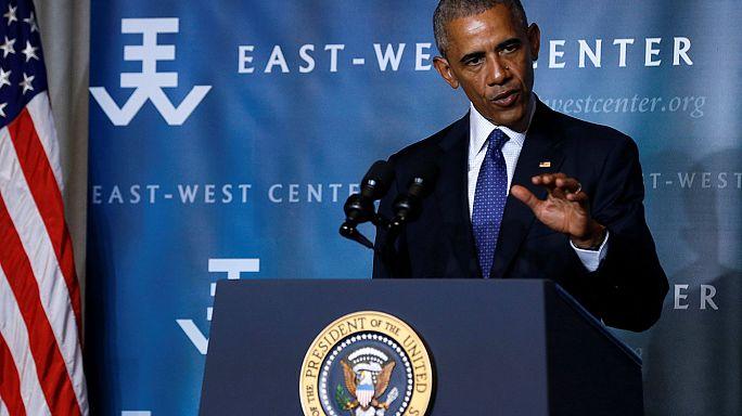 """Обама отправился в """"климатический тур"""""""