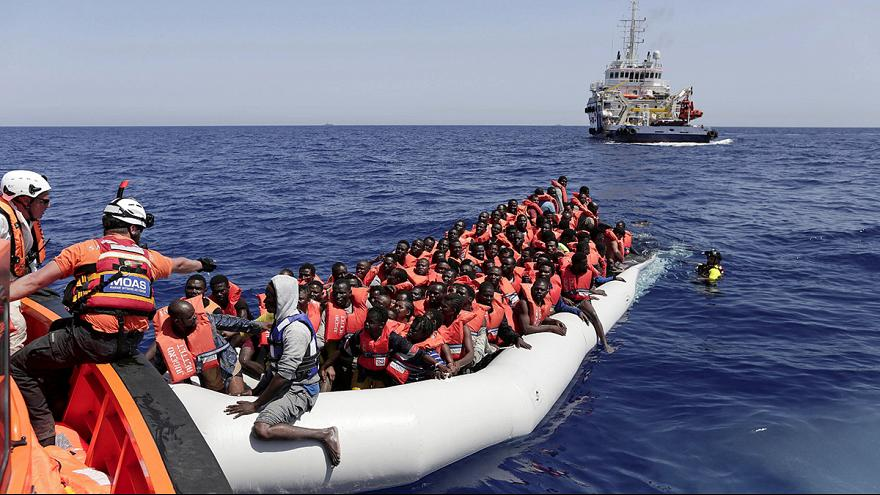 Migrants in the Med: Weather window sees crossing boom