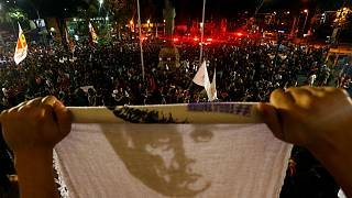 متظاهرون يهتفون ضد رئيس البرازيل الجديد