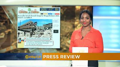 Press Review of August 31, 2016 [The Morning Call]
