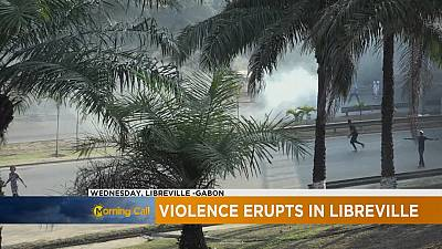 Gabon : émeutes à Libreville [The Morning Call]
