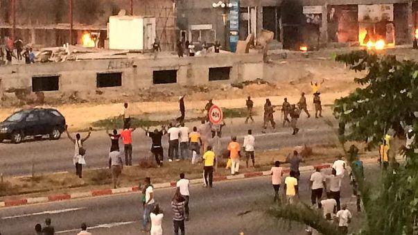 Gabon'daki eylemlerde kan aktı