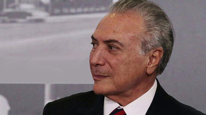 Brezilya'daki kriz sarmalından karlı çıkan tek isim Michel Temer