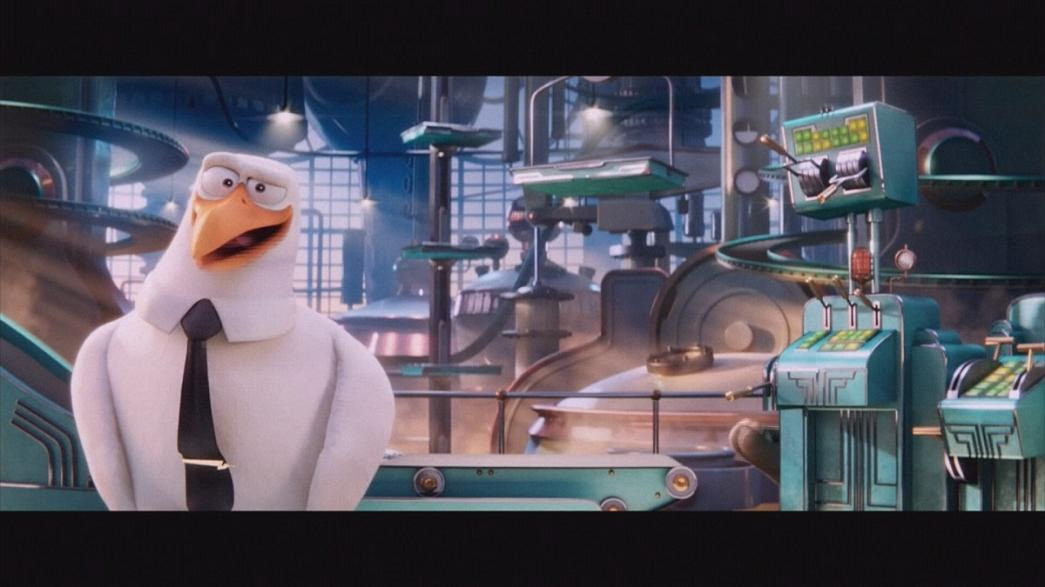 Jennifer Aniston and Kelsey Grammer voice 'Storks' a family autumn animation