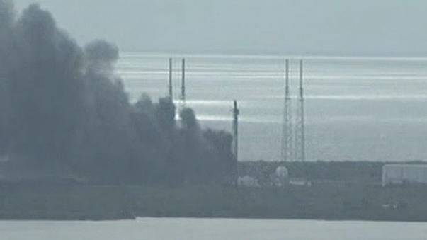 Space X: esplosione a Cape Canaveral, distrutto il primo satellite di Facebook